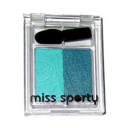 Miss Sporty Studio Colour Duo Silky Eyeshadow  - Clever Twist