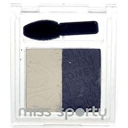 Miss Sporty Studio Colour Duo Silky Eyeshadow-Maverick Mood