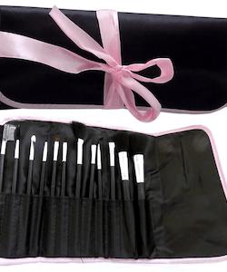 High Maintenance professional 12 Piece Brush Set in a Bag