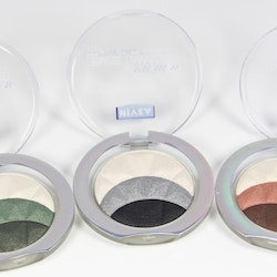NIVEA PURE DIAMONDS Trio Eyeshadows*Magnetic Browns*