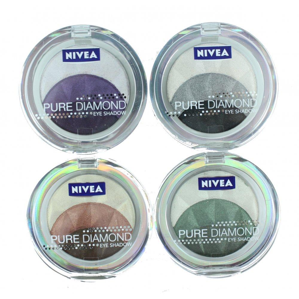 NIVEA PURE DIAMONDS Trio Eyeshadows*Magnetic Browns*