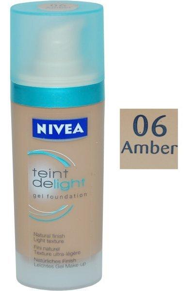Nivea Teinte de light Gel Foundation 30 ml Amber