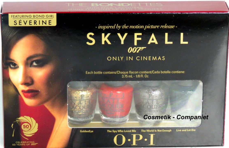 Ny OPI Minipaket Skyfall 007 The Bondettes