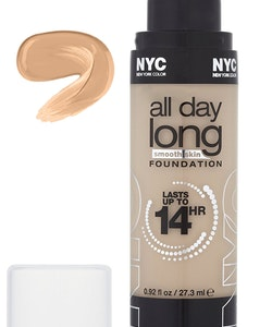 NYC All Day Long Smooth Skin Foundation - 744 Soft Beige