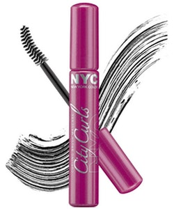 NYC City Curls Mascara-Black