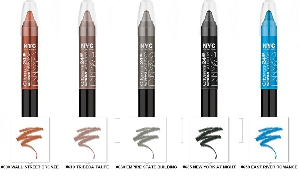 NYC City Proof 24H Waterproof Eyeshadow Stick-East River Romance