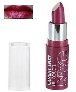 NYC Expert Last NEW NOUVEAU Lipstick  - 433 Purple Crush