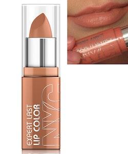 NYC Expert Last SATIN MATT Lipstick - Smooth Beige
