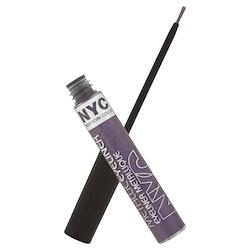 NYC Metallic Liquid Eyeliner- Serpentine Purple 862