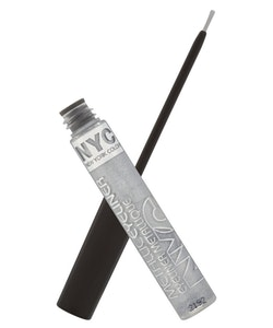 NYC Metallic Liquid Eyeliner- Silver Light 865
