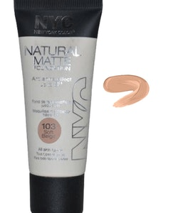 NYC Natural Matte Anti Shine Foundation-Soft Beige