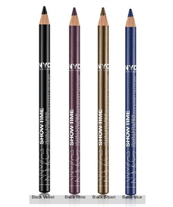 NYC Show Time VELVET Eyeliner -  954 Black Blue