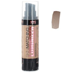 NYC Skin Matching Luminizer Foundation - Medium