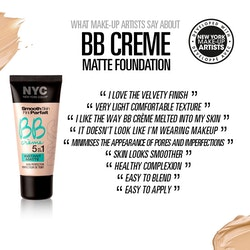 NYC Smooth Skin BB Crème 5 In 1 Instant Matte Perfector-Light