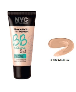 NYC Smooth Skin BB Crème 5 In 1 Instant Matte Perfector-Medium