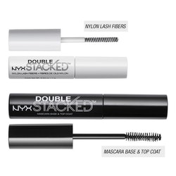 NYX PROFESSIONAL MAKEUP Double Stacked Mascara-Black