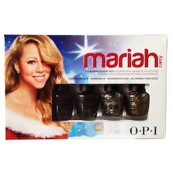 OPI 2013 Mariah Carey Holiday Mini Collection