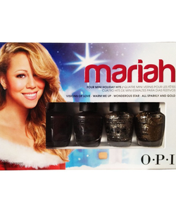 OPI 2013 Mariah Carey Holiday Mini Collection
