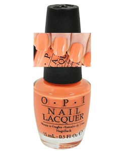 OPI 2014 BRAZIL Collection - Where did Suzi's Man Go?