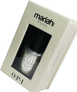 OPI Mariah Carey Deluxe Pure 18K White Gold&Silver Top Coat 15ml