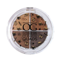 Outdoor Girl Eye Shadow Quads - Americano