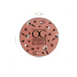 Outdoor Girl Powder Blusher Compact - Almost Nude