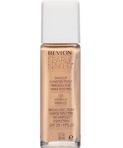 Revlon Nearly Naked Make Up Foundation SPF 20 - Vanilla