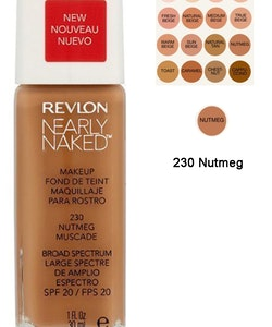 Revlon Nearly Naked Make Up Foundation SPF 20 -230 Nutmeg