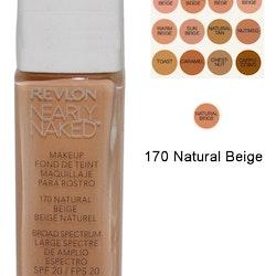 Revlon Nearly Naked Make Up Foundation SPF20 - 170 Natural Beige