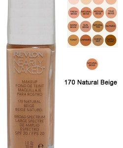 Revlon Nearly Naked Make Up Foundation SPF20 - 170 Natural Beige