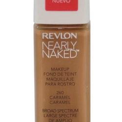 Revlon Nearly Naked Make Up Foundation SPF20 - 260 Caramel