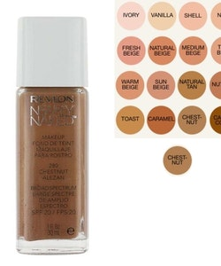 Revlon Nearly Naked Make Up Foundation SPF20 - 280 Chestnut