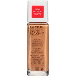 Revlon Nearly Naked Make Up Foundation SPF20 - Warm Beige