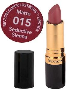 Revlon Super Lustrous MATTE Lipstick - 015 Seductive Sienna