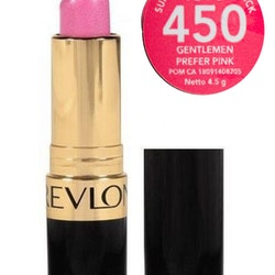 REVLON Super Lustrous Pearl Lipstick  - 450 Gentlemen Prefer Pink
