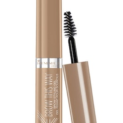 Rimmel Brow This Way Brow Styling Gel with Argan Oil-001 Blonde