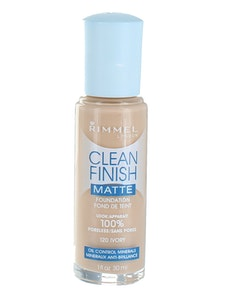 Rimmel CLEAN Finish MATTE Foundation - True Ivory
