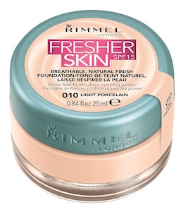Rimmel Fresher Skin Foundation SPF 15 - 010 Light Porcelain