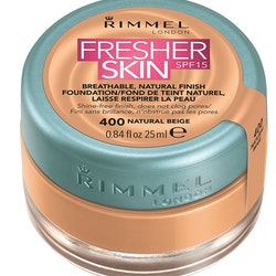 Rimmel Fresher Skin Foundation SPF 15 - 400 Natural Beige