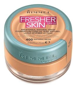 Rimmel Fresher Skin Foundation SPF 15 - 400 Natural Beige