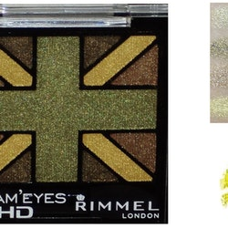 Rimmel Glam Eyes HD Quad Eyeshadow-Green Park