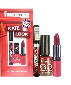 Rimmel Kate Look Gift Set With Mascara, Lipstick & Nail Polish