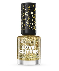 Rimmel London Love Glitter Nail Polish - 030 QUEEN OF BLING