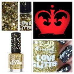 Rimmel London Love Glitter Nail Polish - 030 QUEEN OF BLING