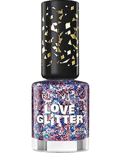 Rimmel London Love Glitter Nail Polish - 032 All Glittered Up