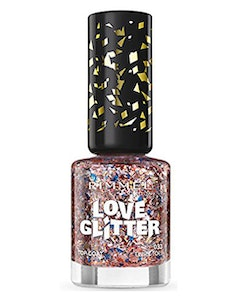 Rimmel London Love Glitter Nail Polish - 033 Tinsel Toes