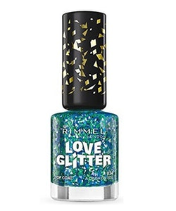 Rimmel London Love Glitter Polish -034 A Crush On You
