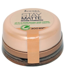 Rimmel London Stay Matte Mousse Foundation - Natural Beige