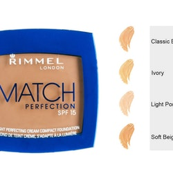 Rimmel Match LIGHT Perfecting Cream Compact SPF 15-Ivory