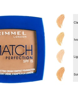 Rimmel Match LIGHT Perfecting Cream Compact SPF 15-Soft Beige